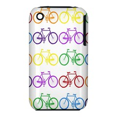 Rainbow Colors Bright Colorful Bicycles Wallpaper Background Iphone 3s/3gs