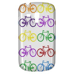 Rainbow Colors Bright Colorful Bicycles Wallpaper Background Galaxy S3 Mini