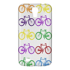 Rainbow Colors Bright Colorful Bicycles Wallpaper Background Samsung Galaxy Mega 6.3  I9200 Hardshell Case