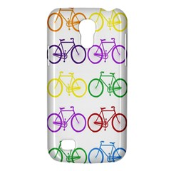 Rainbow Colors Bright Colorful Bicycles Wallpaper Background Galaxy S4 Mini