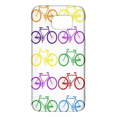 Rainbow Colors Bright Colorful Bicycles Wallpaper Background Galaxy S6