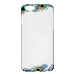 Beautiful Frame Made Up Of Blue Peacock Feathers Apple Iphone 6 Plus/6s Plus Hardshell Case