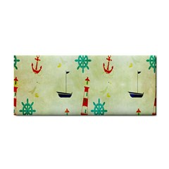 Vintage Seamless Nautical Wallpaper Pattern Cosmetic Storage Cases