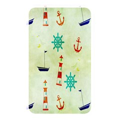 Vintage Seamless Nautical Wallpaper Pattern Memory Card Reader
