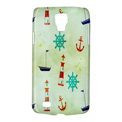 Vintage Seamless Nautical Wallpaper Pattern Galaxy S4 Active