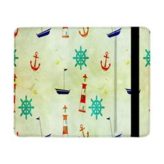 Vintage Seamless Nautical Wallpaper Pattern Samsung Galaxy Tab Pro 8.4  Flip Case