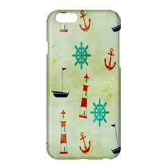 Vintage Seamless Nautical Wallpaper Pattern Apple Iphone 6 Plus/6s Plus Hardshell Case