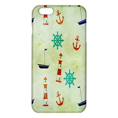 Vintage Seamless Nautical Wallpaper Pattern iPhone 6 Plus/6S Plus TPU Case