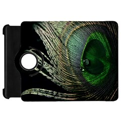 Feather Peacock Drops Green Kindle Fire HD 7