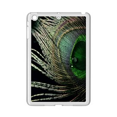 Feather Peacock Drops Green Ipad Mini 2 Enamel Coated Cases