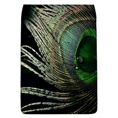 Feather Peacock Drops Green Flap Covers (l)