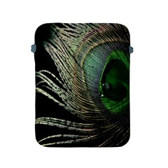 Feather Peacock Drops Green Apple iPad 2/3/4 Protective Soft Cases