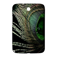 Feather Peacock Drops Green Samsung Galaxy Note 8.0 N5100 Hardshell Case