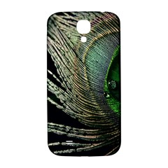 Feather Peacock Drops Green Samsung Galaxy S4 I9500/i9505  Hardshell Back Case