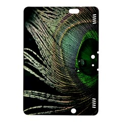 Feather Peacock Drops Green Kindle Fire HDX 8.9  Hardshell Case