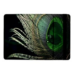 Feather Peacock Drops Green Samsung Galaxy Tab Pro 10.1  Flip Case