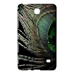 Feather Peacock Drops Green Samsung Galaxy Tab 4 (7 ) Hardshell Case