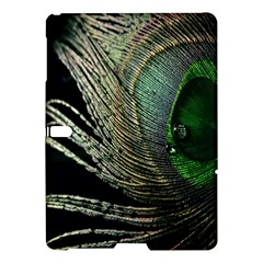 Feather Peacock Drops Green Samsung Galaxy Tab S (10.5 ) Hardshell Case