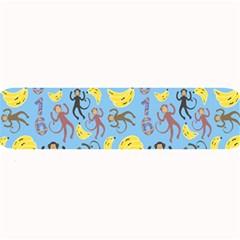 Cute Monkeys Seamless Pattern Large Bar Mats