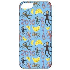 Cute Monkeys Seamless Pattern Apple iPhone 5 Classic Hardshell Case