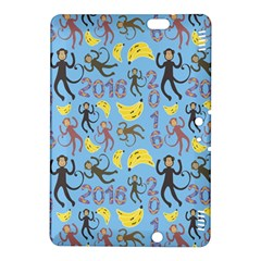 Cute Monkeys Seamless Pattern Kindle Fire HDX 8.9  Hardshell Case