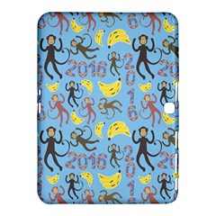 Cute Monkeys Seamless Pattern Samsung Galaxy Tab 4 (10 1 ) Hardshell Case