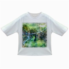 Digitally Painted Abstract Style Watercolour Painting Of A Peacock Infant/Toddler T-Shirts