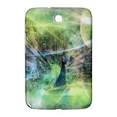 Digitally Painted Abstract Style Watercolour Painting Of A Peacock Samsung Galaxy Note 8.0 N5100 Hardshell Case