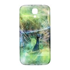 Digitally Painted Abstract Style Watercolour Painting Of A Peacock Samsung Galaxy S4 I9500/I9505  Hardshell Back Case