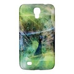 Digitally Painted Abstract Style Watercolour Painting Of A Peacock Samsung Galaxy Mega 6.3  I9200 Hardshell Case