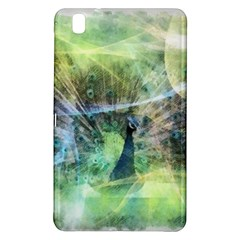 Digitally Painted Abstract Style Watercolour Painting Of A Peacock Samsung Galaxy Tab Pro 8.4 Hardshell Case