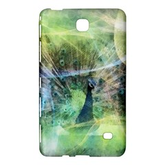 Digitally Painted Abstract Style Watercolour Painting Of A Peacock Samsung Galaxy Tab 4 (8 ) Hardshell Case