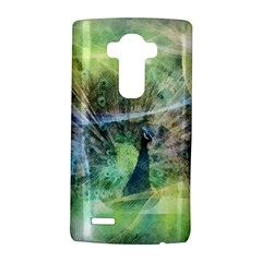 Digitally Painted Abstract Style Watercolour Painting Of A Peacock LG G4 Hardshell Case