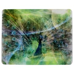 Digitally Painted Abstract Style Watercolour Painting Of A Peacock Jigsaw Puzzle Photo Stand (Rectangular)