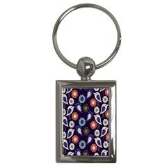 Cute Birds Pattern Key Chains (Rectangle)