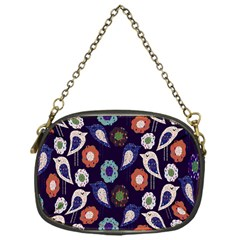 Cute Birds Pattern Chain Purses (one Side)