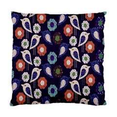 Cute Birds Pattern Standard Cushion Case (two Sides)