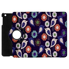 Cute Birds Pattern Apple iPad Mini Flip 360 Case
