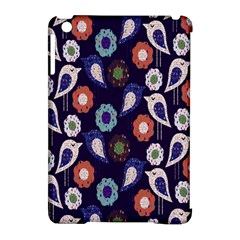 Cute Birds Pattern Apple Ipad Mini Hardshell Case (compatible With Smart Cover)