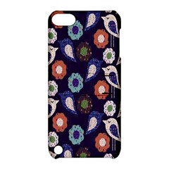 Cute Birds Pattern Apple Ipod Touch 5 Hardshell Case With Stand