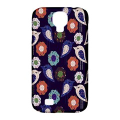 Cute Birds Pattern Samsung Galaxy S4 Classic Hardshell Case (PC+Silicone)