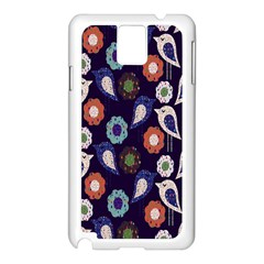 Cute Birds Pattern Samsung Galaxy Note 3 N9005 Case (White)