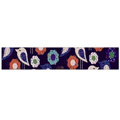 Cute Birds Pattern Flano Scarf (Large)