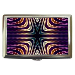 Colorful Seamless Vibrant Pattern Cigarette Money Cases