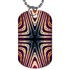 Colorful Seamless Vibrant Pattern Dog Tag (Two Sides)