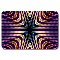 Colorful Seamless Vibrant Pattern Large Doormat