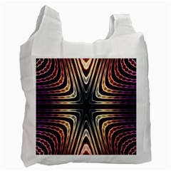 Colorful Seamless Vibrant Pattern Recycle Bag (one Side)