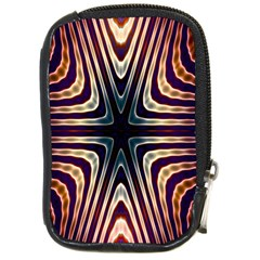 Colorful Seamless Vibrant Pattern Compact Camera Cases