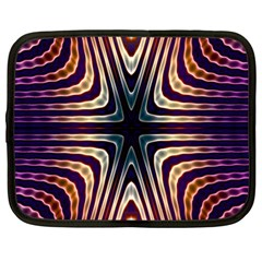 Colorful Seamless Vibrant Pattern Netbook Case (xl)