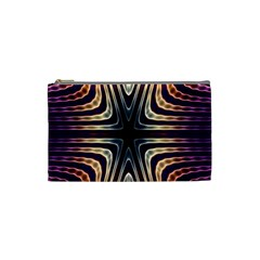 Colorful Seamless Vibrant Pattern Cosmetic Bag (small)